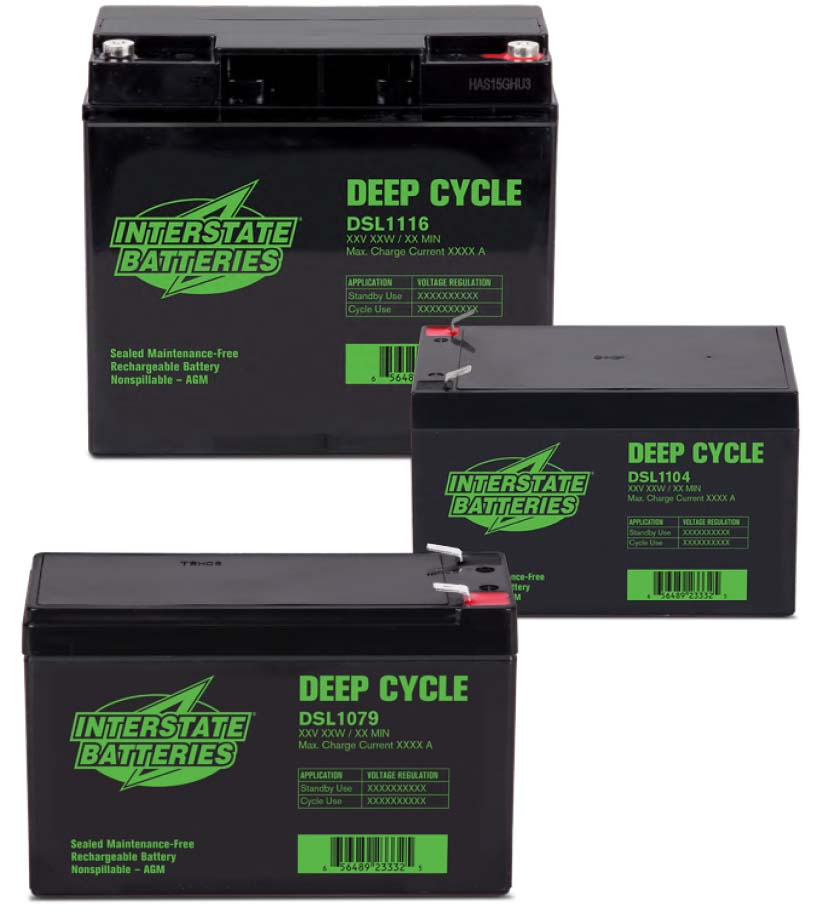 Baterías SLA de ciclo profundo